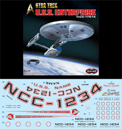 decals spaceships 1 350 scale